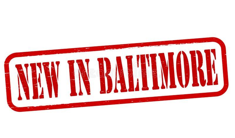 Neu in Baltimore vektor abbildung