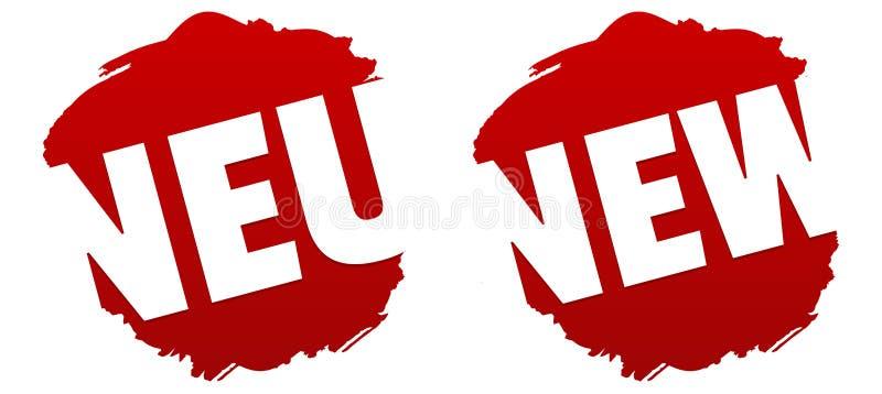 Neu - Nowa odznaka ESP10 wektor ilustracji