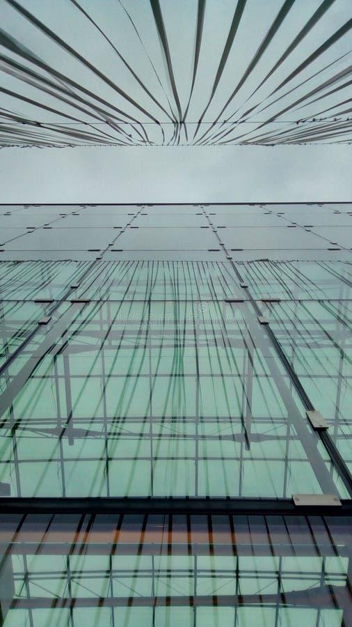 Neu Oerlikon - prédio de escritórios imagens de stock