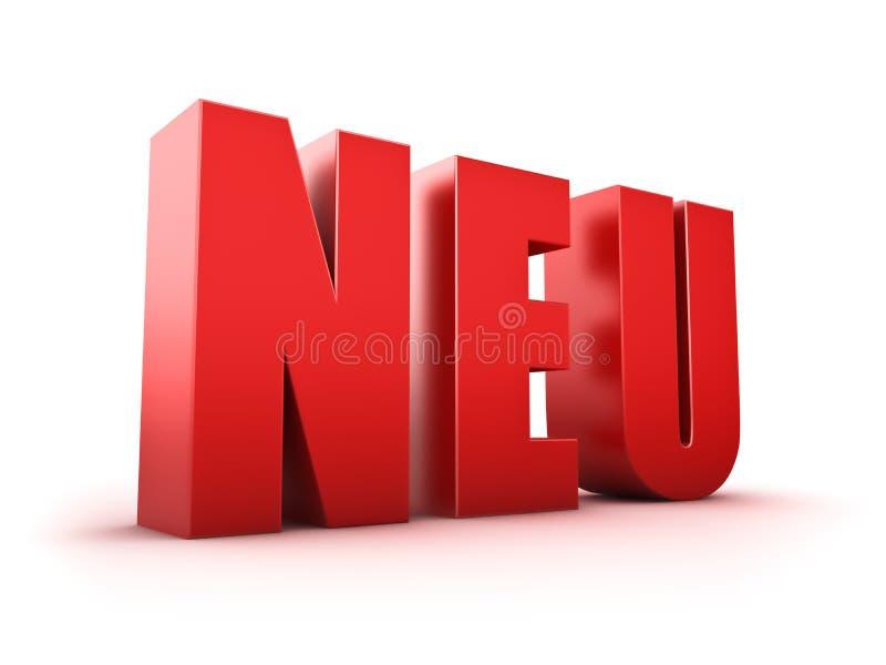 Download Neu stock illustration. Illustration of background, message - 37036510