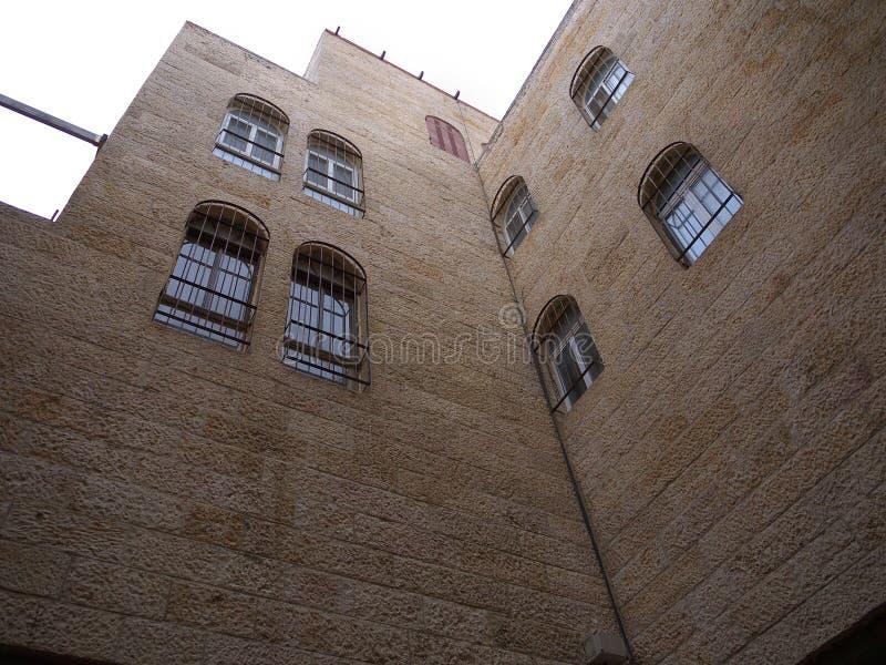 Neubau in jüdischem Vierteljerusalem stockfoto