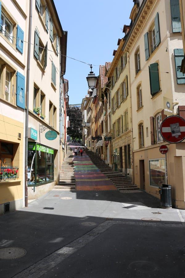 Neuchâtel stock fotografie