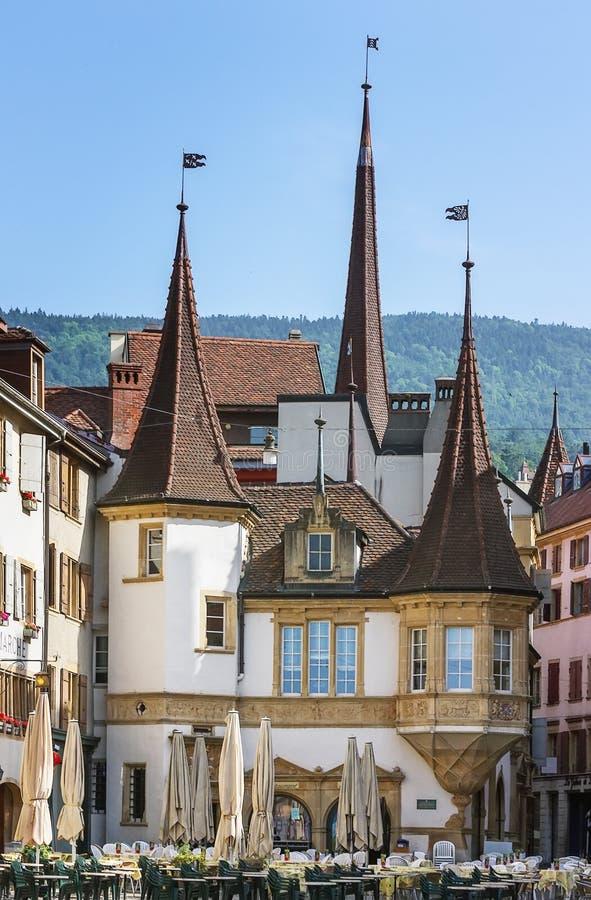 Neuchatel, die Schweiz stockfotografie