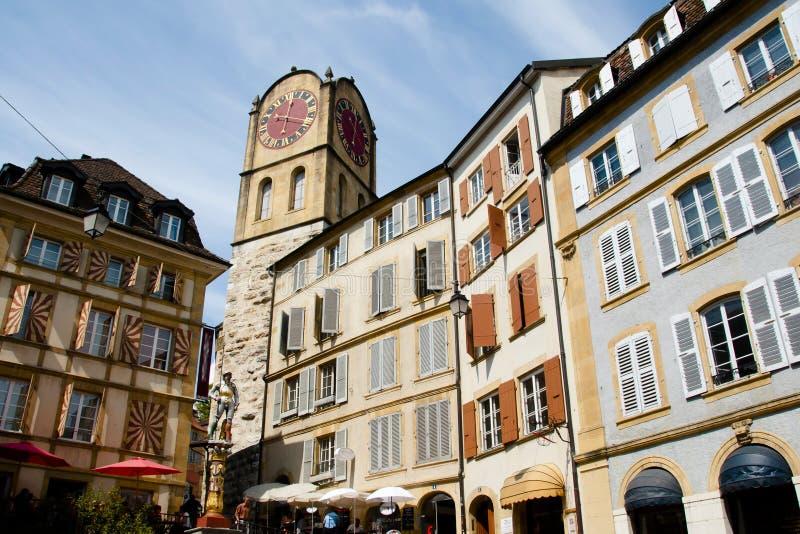 Neuchatel - Switzerland royalty free stock image