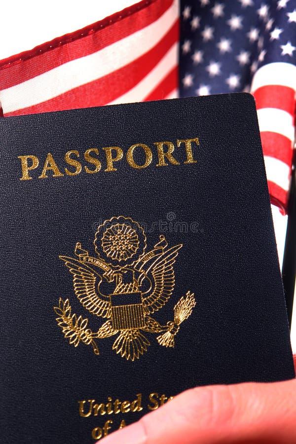 Neue amerikanische Staatsbürgerschaft stockbild