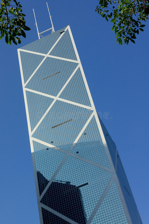 Neue Bank von China Hong Kong lizenzfreie stockfotografie
