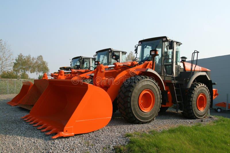 Neue Bulldozer lizenzfreie stockbilder