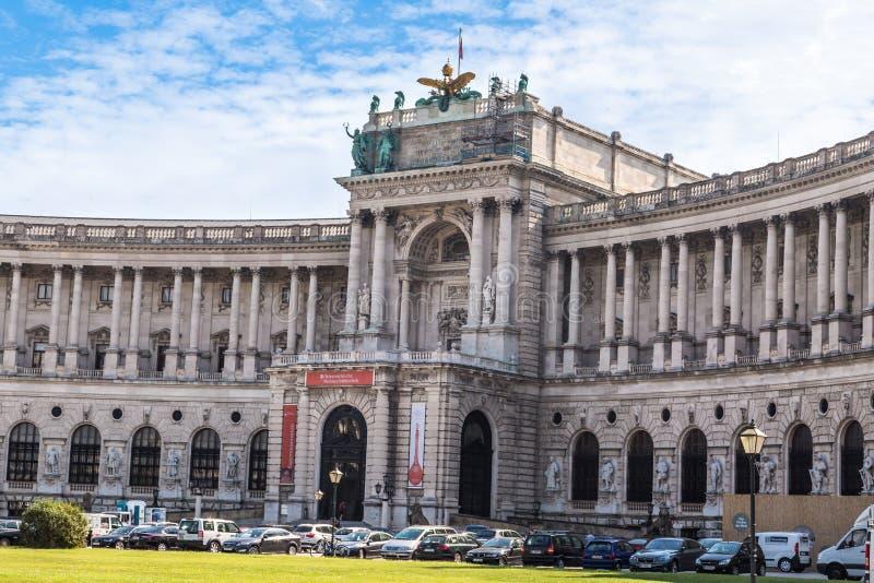 Neue Burg Museum in Vienna stock image