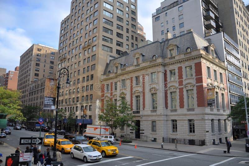 Neue Galerie Νέα Υόρκη, Μανχάταν, NYC στοκ φωτογραφία με δικαίωμα ελεύθερης χρήσης
