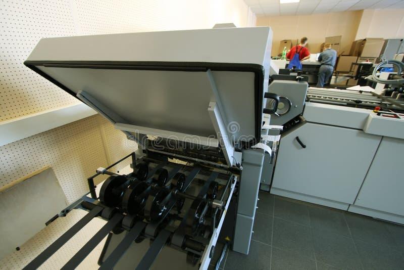 Neue gedruckte Ausrüstung lizenzfreies stockbild