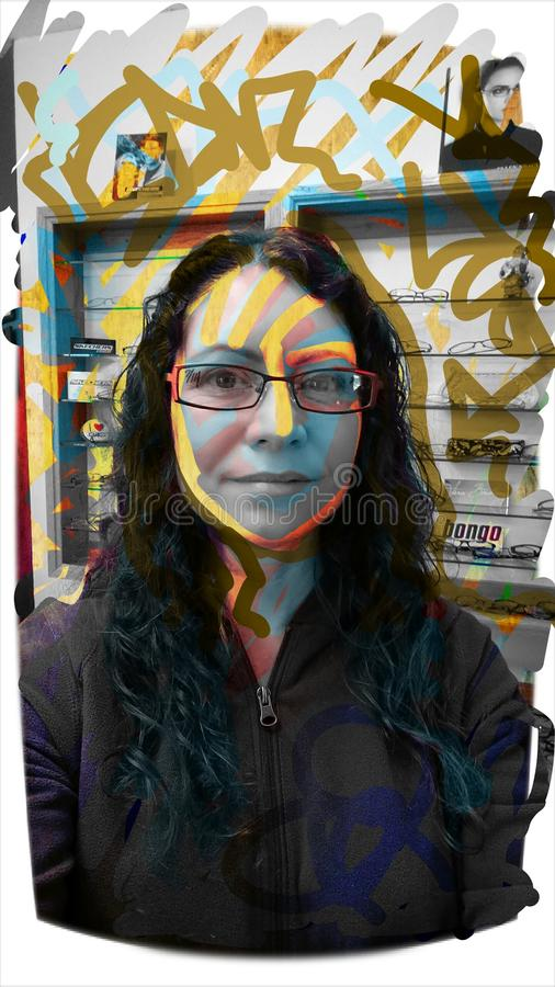 Neue Gläser lizenzfreie stockfotografie