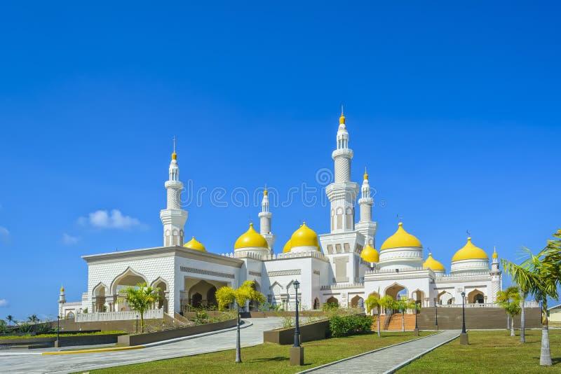 Neue großartige Moschee stockfotos