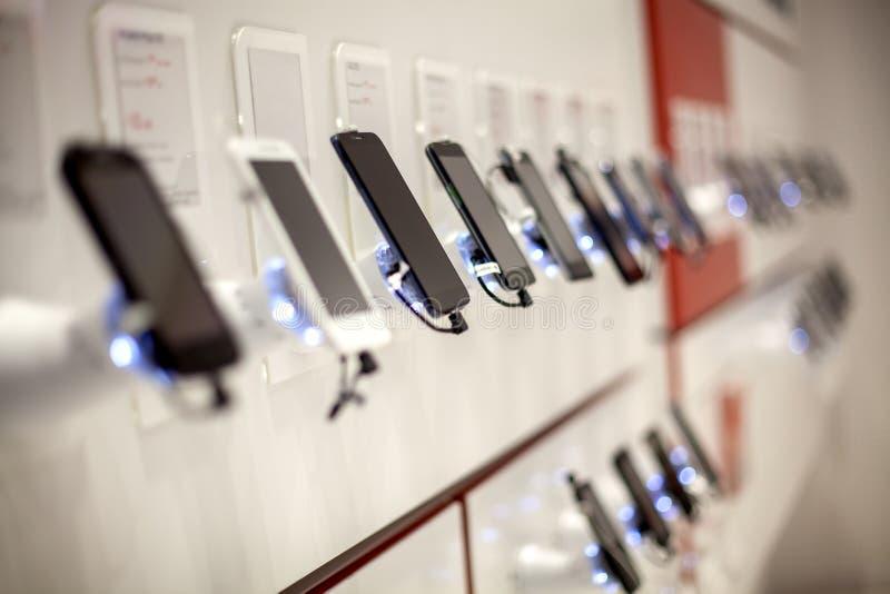 Neue Handys stockfotos
