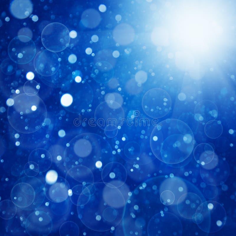 Neue Hintergründe des abstrakten Winters lizenzfreie abbildung