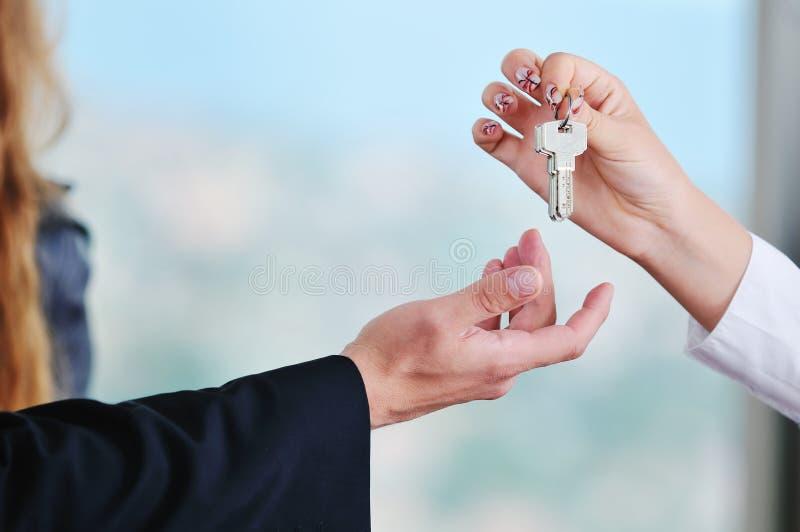 Neue Home-Tasten lizenzfreies stockfoto