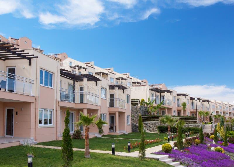 Neue Immobilienentwicklung stockfotografie