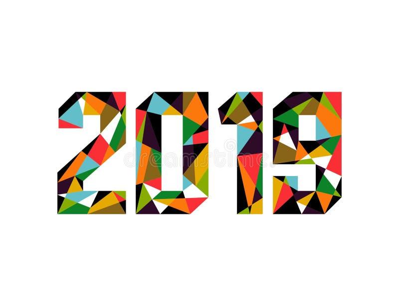 2019 neue Jahre lizenzfreie stockfotos