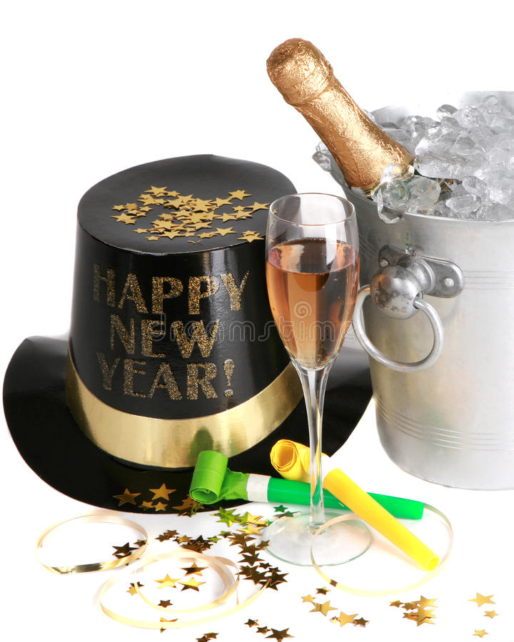 Neue Jahre Feier- lizenzfreies stockbild