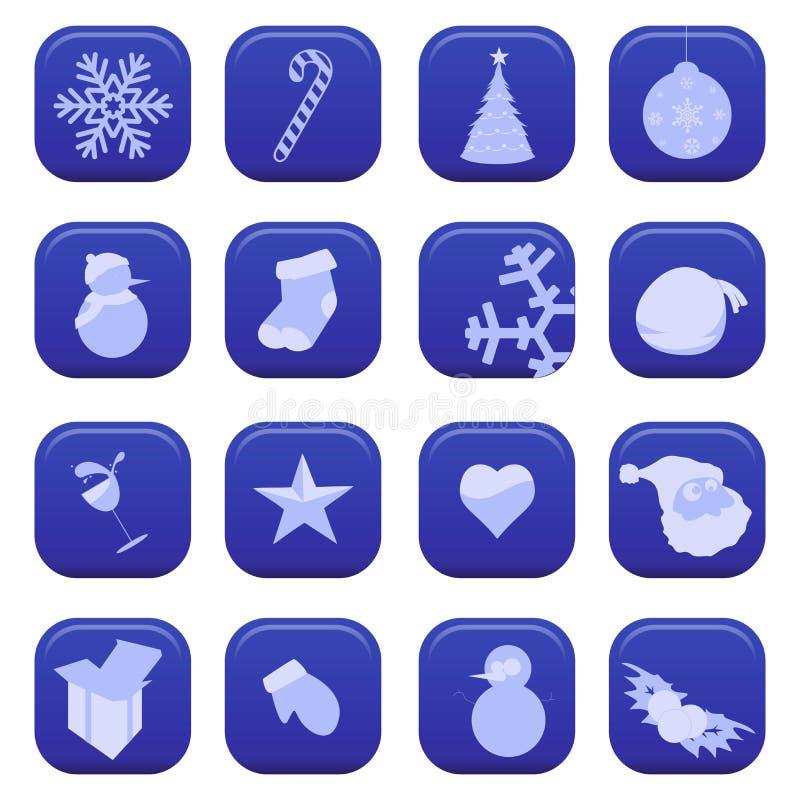 Neue Jahre Symbol- stock abbildung