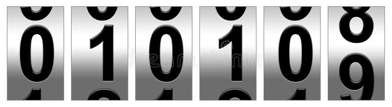 Neue Jahre wählen 2009 vektor abbildung