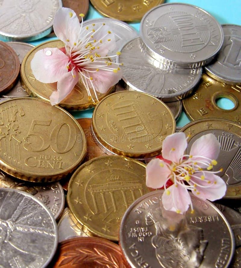 Neue Jahreszeit des Geldes lizenzfreies stockfoto