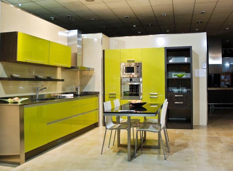 Neue Küche lizenzfreie stockfotos
