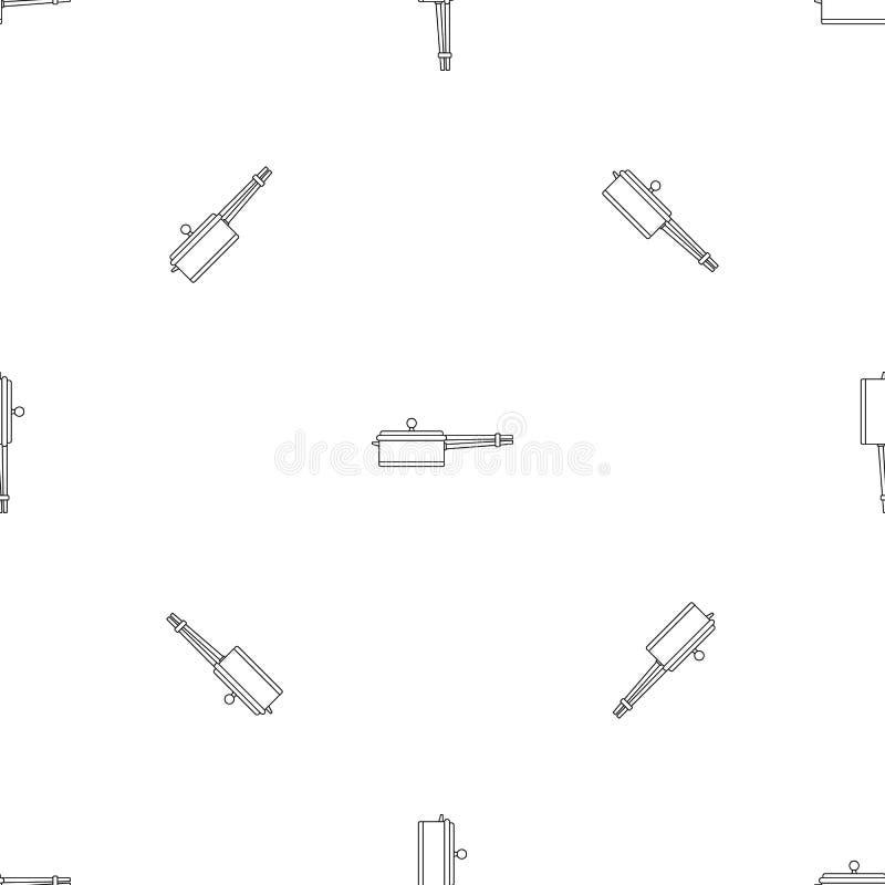 Neue Kasserollenikone, Entwurfsart lizenzfreie abbildung