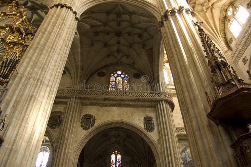 Neue Kathedrale von Salamanca lizenzfreie stockfotos