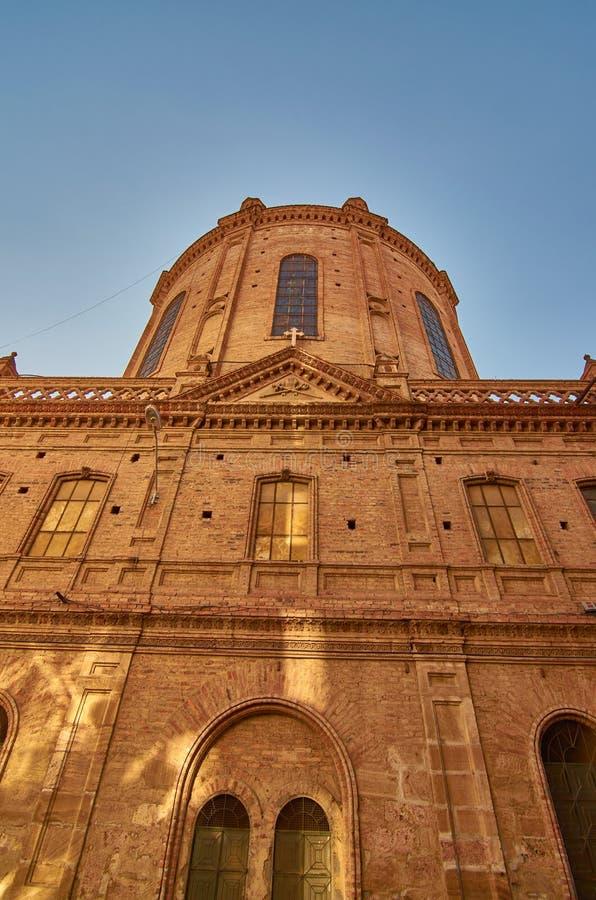 Neue Kathedralen-Seitenansicht stockfotografie