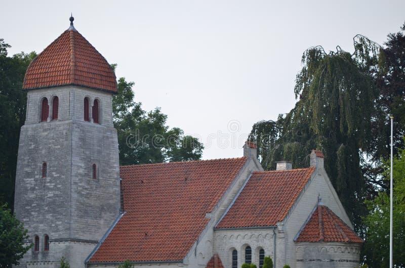 Neue Kirche Højerup lizenzfreies stockfoto