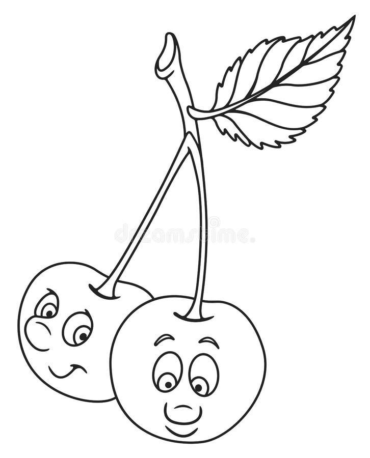 Download Neue Kirschkarikatur vektor abbildung. Illustration von gesundheit - 90237210
