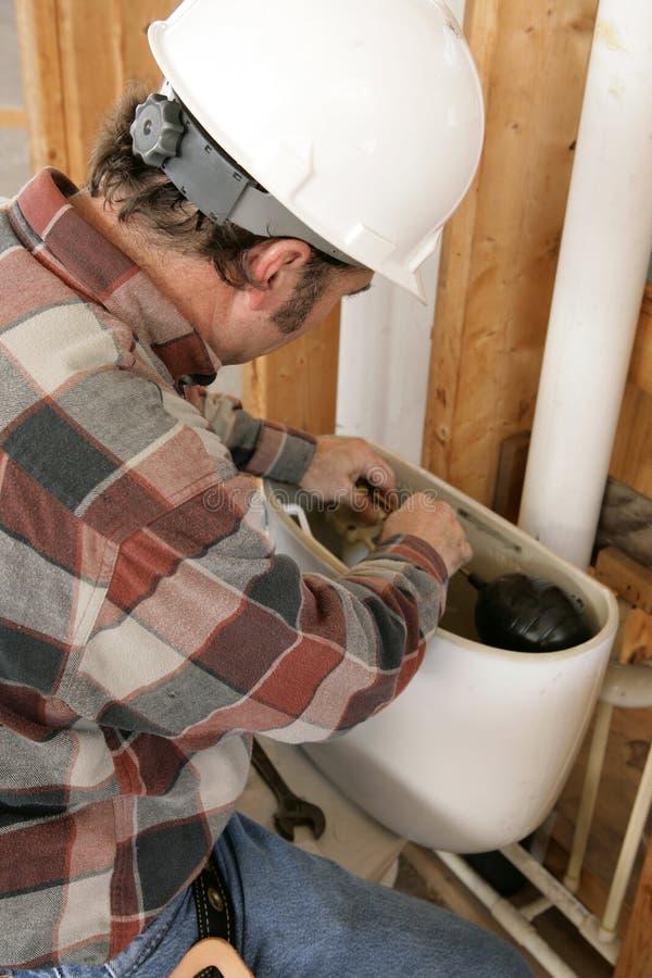 Neue Klempnerarbeit-Vorrichtung stockbild