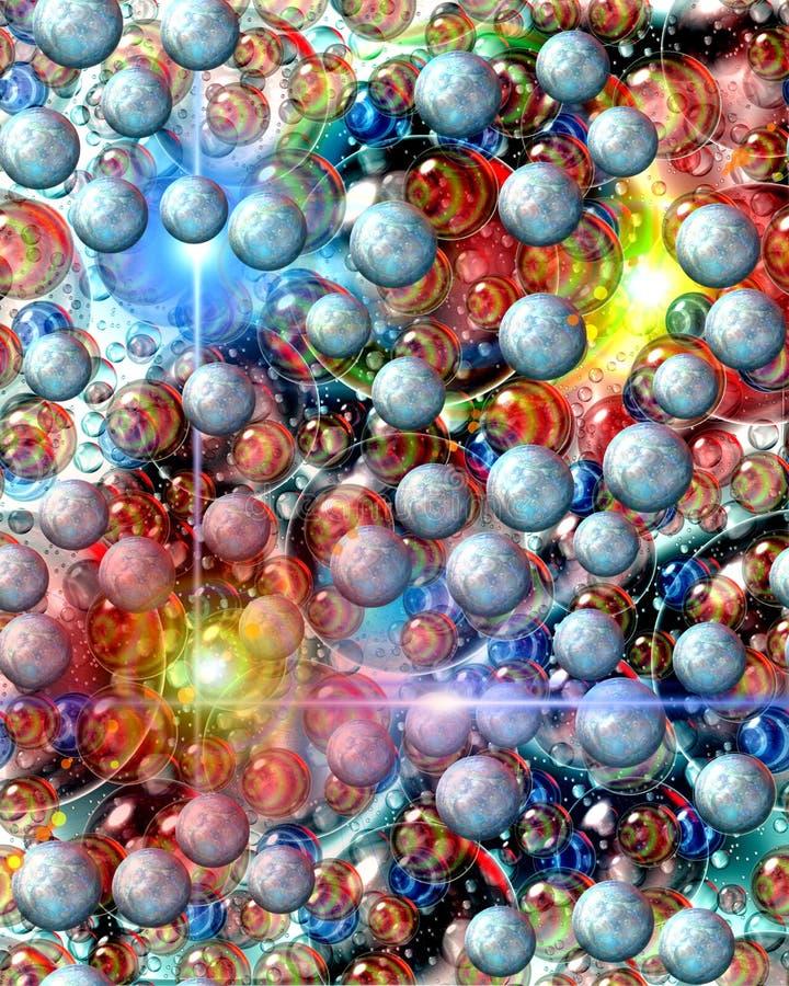 Neue Lebenplaneten lizenzfreie stockfotos