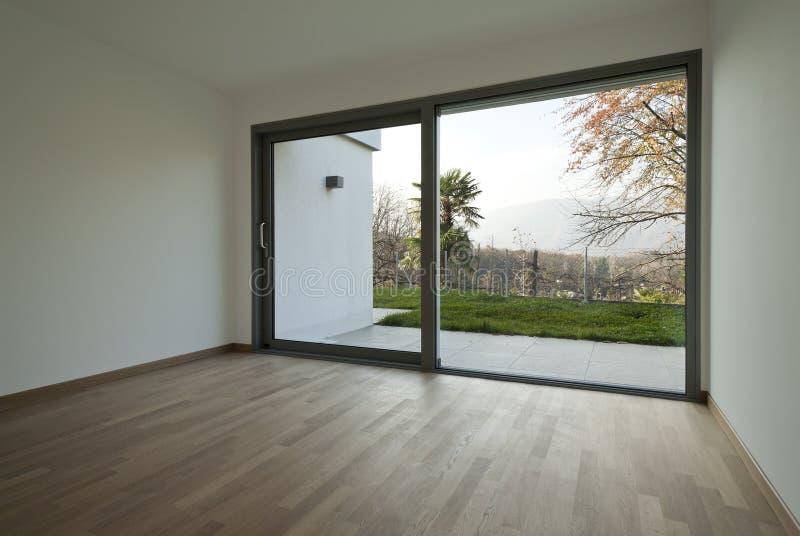 Neue leere Wohnung stockfoto