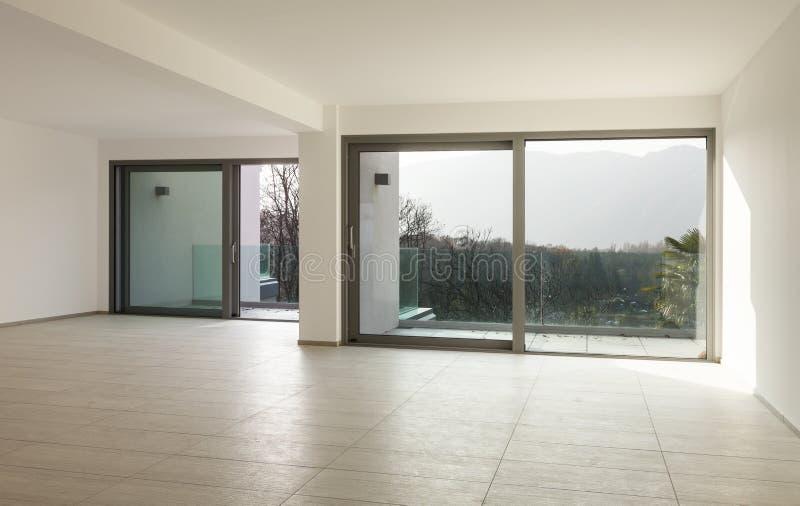 Neue leere Wohnung lizenzfreies stockfoto