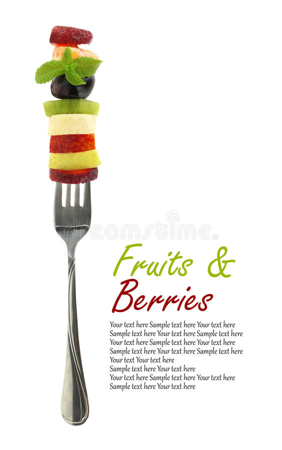 Neue Mischscheiben von Früchten lizenzfreie stockfotografie