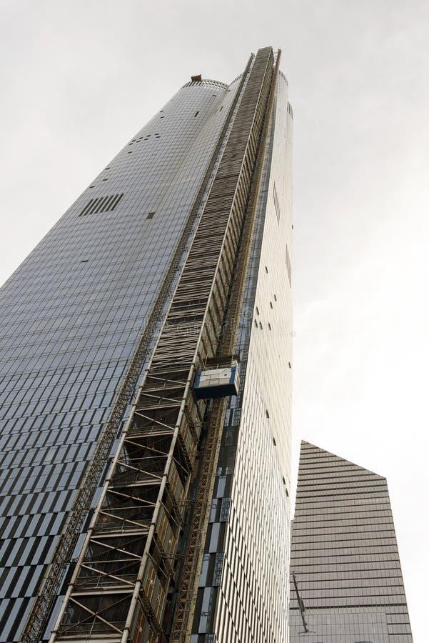 Neue moderne Wolkenkratzer in New York City stockfoto