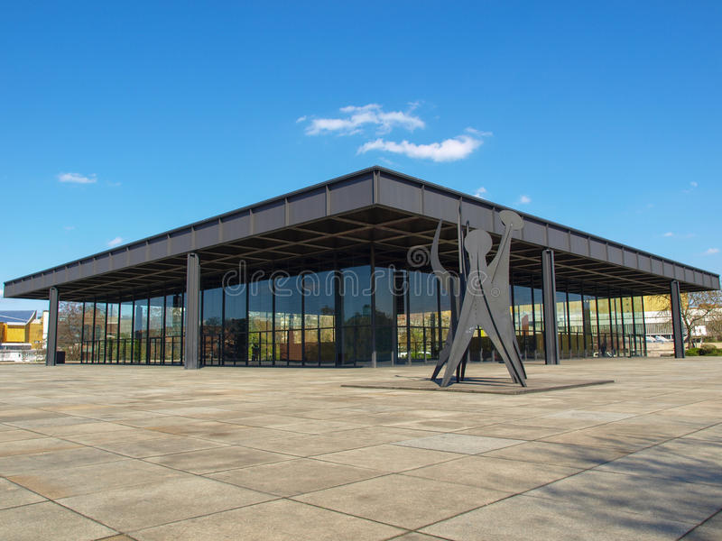 Neue Nationalgalerie photos stock