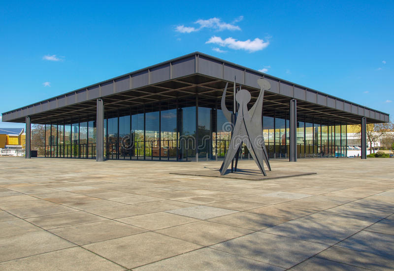 Neue Nationalgalerie images stock