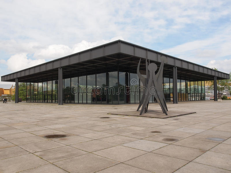 Neue Nationalgalerie photo libre de droits