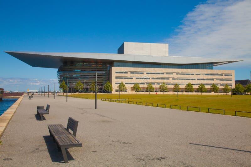 Neue Oper in Kopenhagen lizenzfreie stockbilder