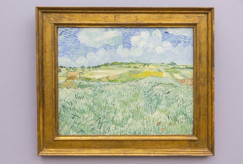 The Neue Pinakothek - Vincent van Gogh stock photography