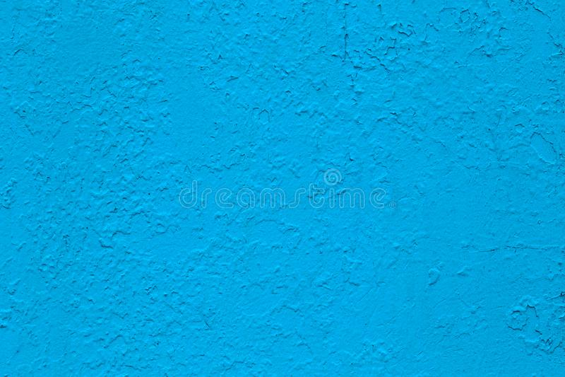 Neue Schicht blaues glattes Ölfarbeplanum lizenzfreies stockfoto
