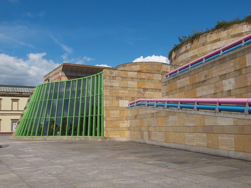 Neue Staatsgalerie à Stuttgart photos libres de droits