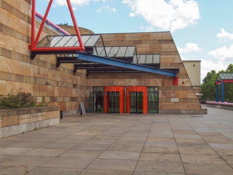 Neue Staatsgalerie w Stuttgart obrazy stock