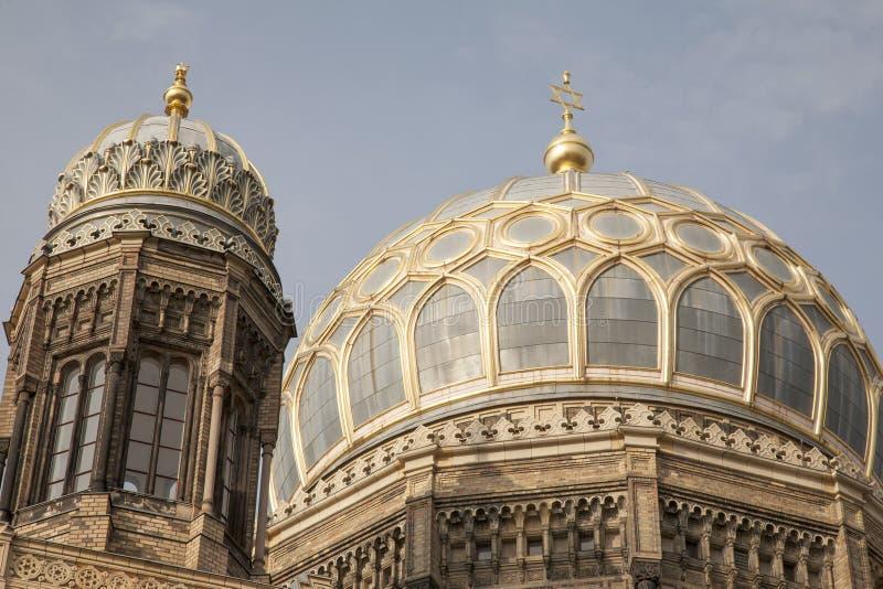 Neue Synagoge, Berlijn royalty-vrije stock afbeelding