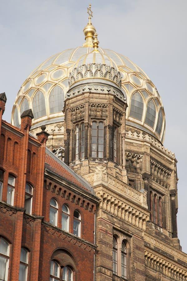 Neue Synagoge, Berlijn royalty-vrije stock foto's