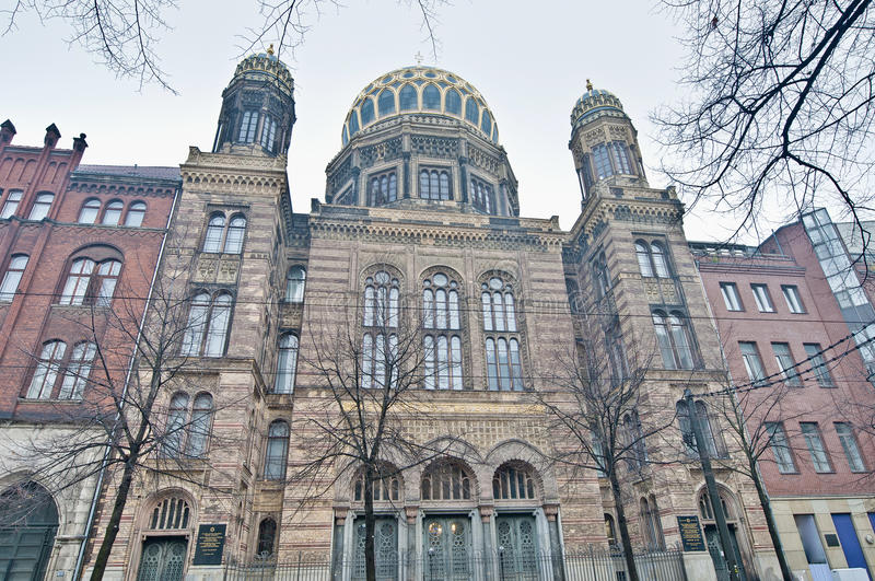 Download The Neue Synagoge At Berlin, Germany Stock Photo - Image of europe, building: 39508154