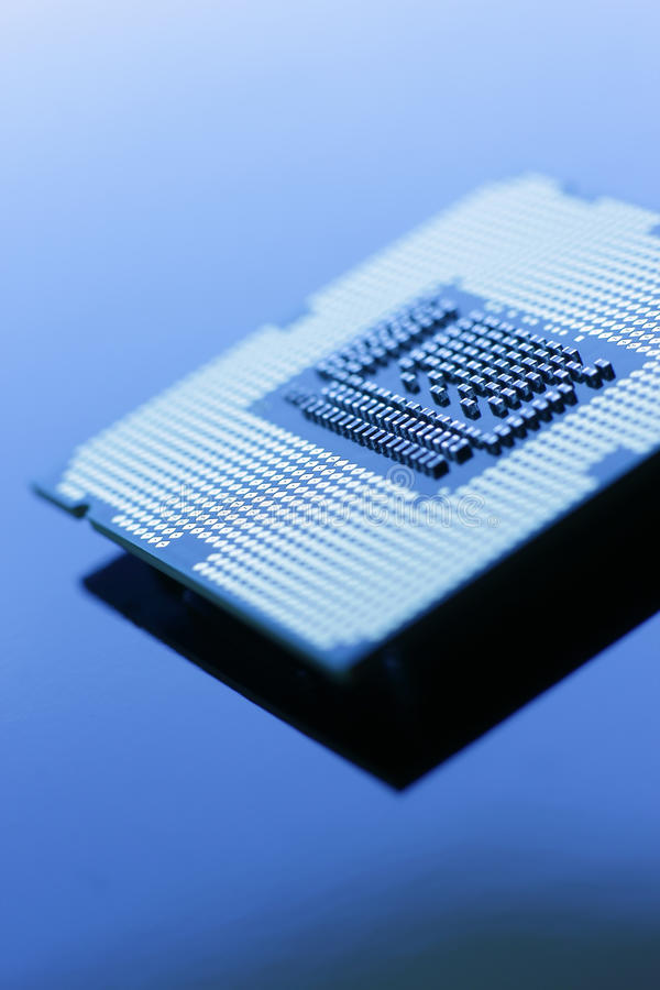 Neue Technologie-Prozessor stockfotografie