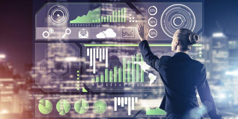 Neue Technologien und Innovationen als Methoden f?r effektives modernes Gesch?ft stockbild